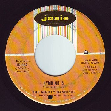 MIGHTY HANNIBAL - HYMN NO. 5 - JOSIE