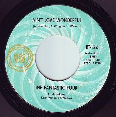 FANTASTIC FOUR - AIN'T LOVE WONDERFUL - RIC-TIC 122