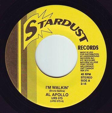 AL APOLLO - I'M WALKIN' - STARDUST