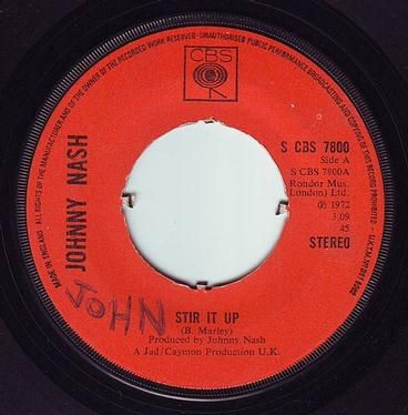 JOHNNY NASH - STIR IT UP - CBS