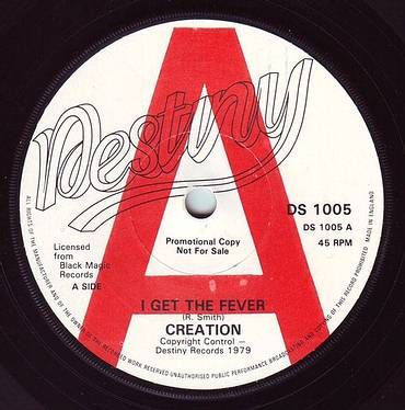 CREATION - I GET THE FEVER - DESTINY DEMO