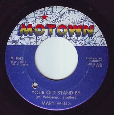 MARY WELLS - YOUR OLD STAND BY - MOTOWN
