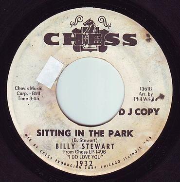 BILLY STEWART - SITTING IN THE PARK - CHESS DEMO