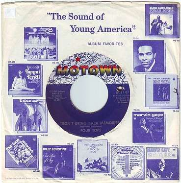 FOUR TOPS - DON'T BRING BACK MEMORIES - MOTOWN