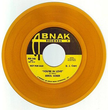 ERROL SOBER - YOU'RE IN LOVE - ABNAK DEMO