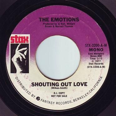 EMOTIONS - SHOUTING OUT LOVE - STAX DEMO