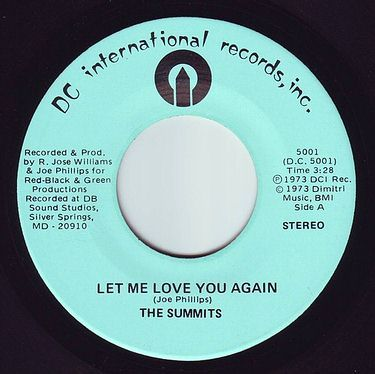 SUMMITS - LET ME LOVE YOU AGAIN - DC INTERNATIONAL