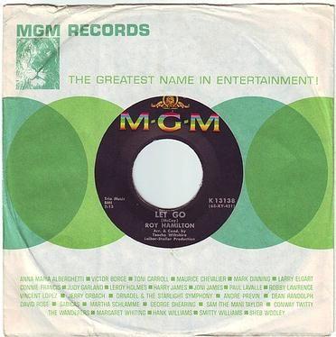 ROY HAMILTON - LET GO - MGM