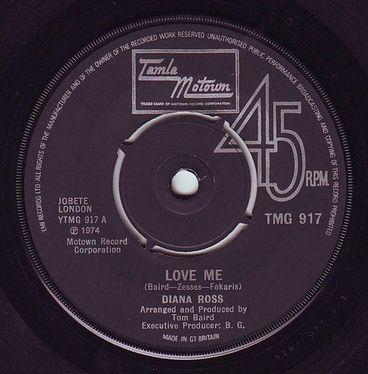 DIANA ROSS - LOVE ME - TMG 917