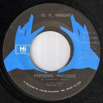 O.V. WRIGHT - PRECIOUS, PRECIOUS - HI