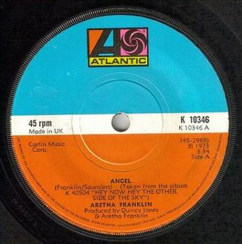 ARETHA FRANKLIN - ANGEL - ATLANTIC
