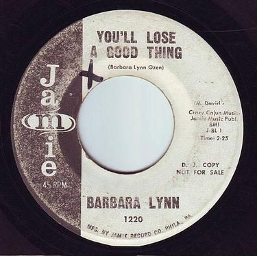 BARBARA LYNN - YOU'LL LOSE A GOOD THING - JAMIE DEMO