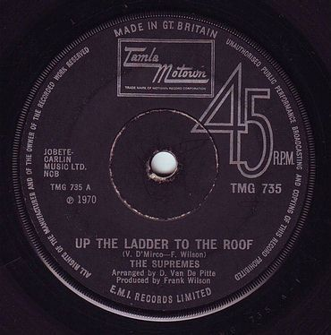 SUPREMES - UP THE LADDER TO THE ROOF - TMG 735