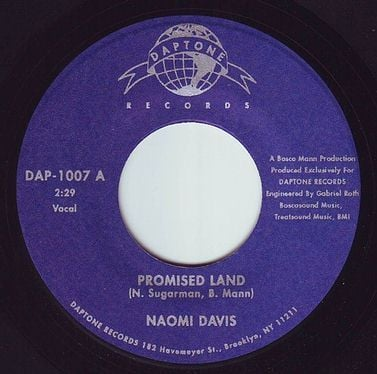 NAOMI DAVIS - PROMISED LAND - DAPTONE