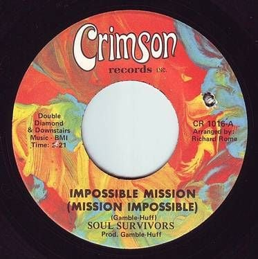 SOUL SURVIVORS - IMPOSSIBLE MISSION - CRIMSON