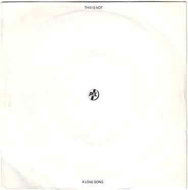 PIL - THIS IS NOT A LOVE SONG - VIRGIN