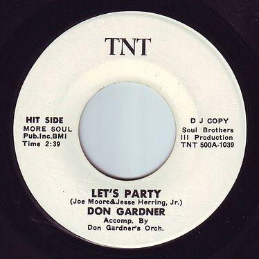 DON GARDNER - LET'S PARTY - TNT DEMO