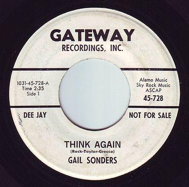 GAIL SONDERS - THINK AGAIN - GATEWAY DEMO