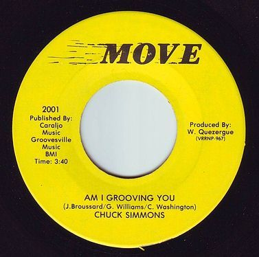 CHUCK SIMMONS - AM I GROOVING YOU - MOVE