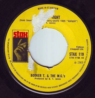 BOOKER T. & THE MG's - TIME IS TIGHT - STAX