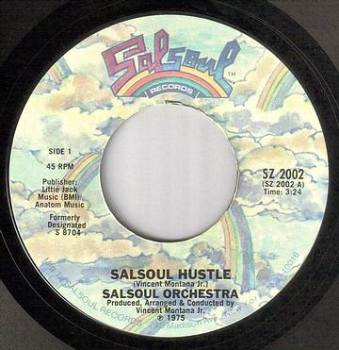 SALSOUL ORCHESTRA - SALSOUL HUSTLE - SALSOUL