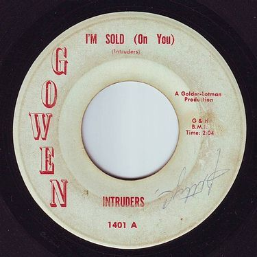 INTRUDERS - I'M SOLD (ON YOU) - GOWEN