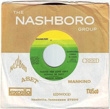FREDDIE NORTH - TAKING HER LOVE AIN'T GONNA BE EASY - MANKIND