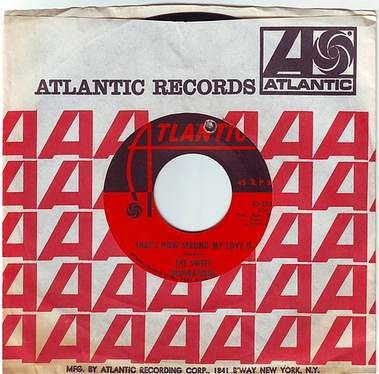 SWEET INSPIRATIONS - THAT'S HOW STRONG MY LOVE IS - ATLANTIC