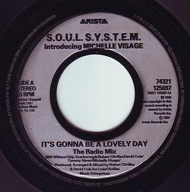 SOUL SYSTEM - IT'S GONNA BE A LOVELY DAY - ARISTA