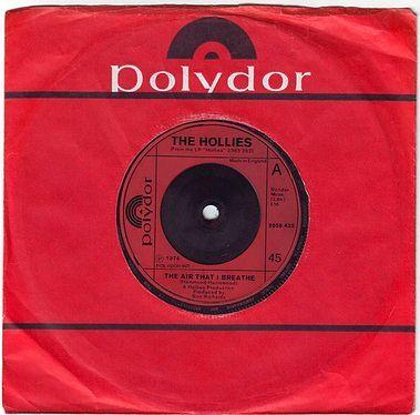 HOLLIES - THE AIR THAT I BREATHE - POLYDOR