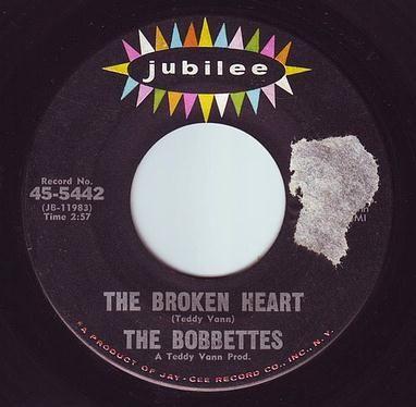 BOBBETTES - THE BROKEN HEART - JUBILEE