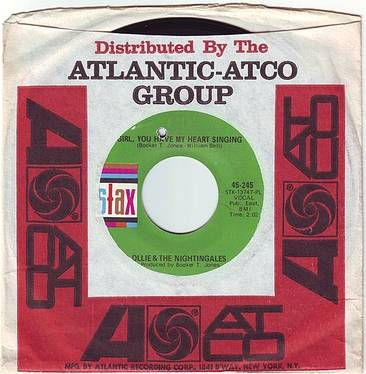 OLLIE & THE NIGHTINGALES - GIRL, YOU HAVE MY HEART SINGING - STAX