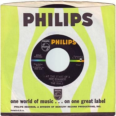 DIALS - AT THE START OF A NEW ROMANCE - PHILIPS