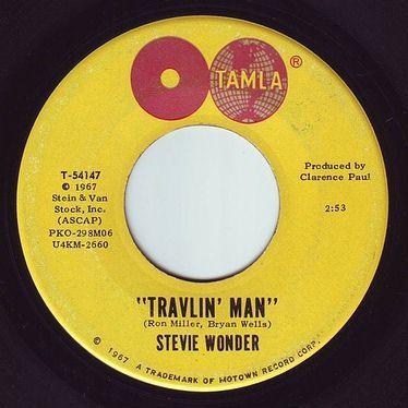 STEVIE WONDER - TRAVLIN' MAN - TAMLA