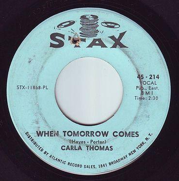 CARLA THOMAS - WHEN TOMORROW COMES - STAX