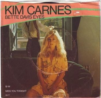 KIM CARNES - BETTE DAVIS EYES - EMI AMERICA