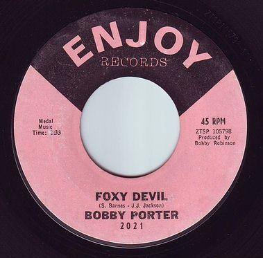 BOBBY PORTER - FOXY DEVIL - ENJOY