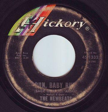 NEWBEATS - RUN BABY RUN - HICKORY