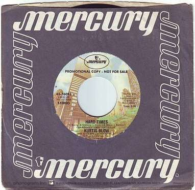 KURTIS BLOW - HARD TIMES - MERCURY DEMO