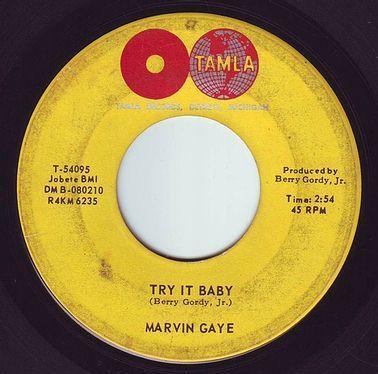 MARVIN GAYE - TRY IT BABY - TAMLA