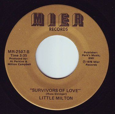 LITTLE MILTON - SURVIVORS OF LOVE - MIER