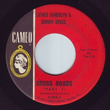 LUTHER RANDOLPH & JOHNNY STILES - CROSS ROADS - CAMEO