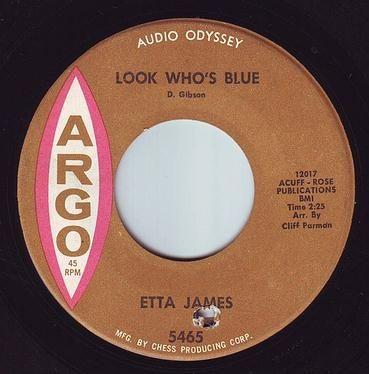 ETTA JAMES - LOOK WHO'S BLUE - ARGO