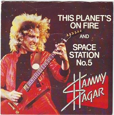 SAMMY HAGAR - THIS PLANET'S ON FIRE - CAPITOL