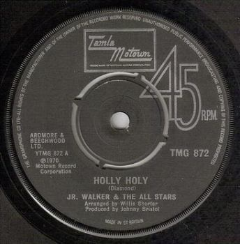 JR. WALKER & ALL STARS - HOLLY HOLY - TMG 872