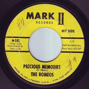 ROMEOS - PRECIOUS MEMORIES - MARK II