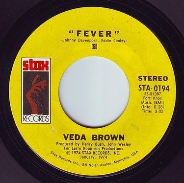 VEDA VROWN - FEVER - STAX