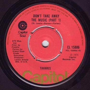 TAVARES - DON'T TAKE AWAY THE MUSIC - CAPITOL
