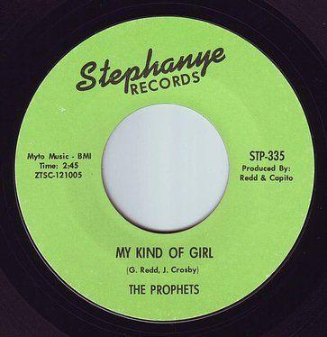 PROPHETS - MY KIND OF GIRL - STEPHANYE