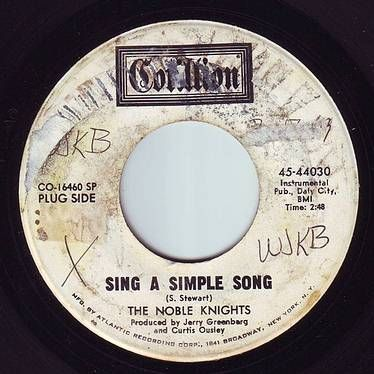 NOBLE KNIGHTS - SING A SIMPLE SONG - COTILLION DEMO